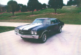 1970 CHEVROLET CHEVELLE LS6 COUPE -  - 19674