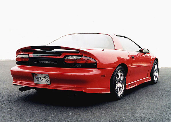1996 CHEVROLET CAMARO Z/28 SS COUPE - Rear 3/4 - 19680
