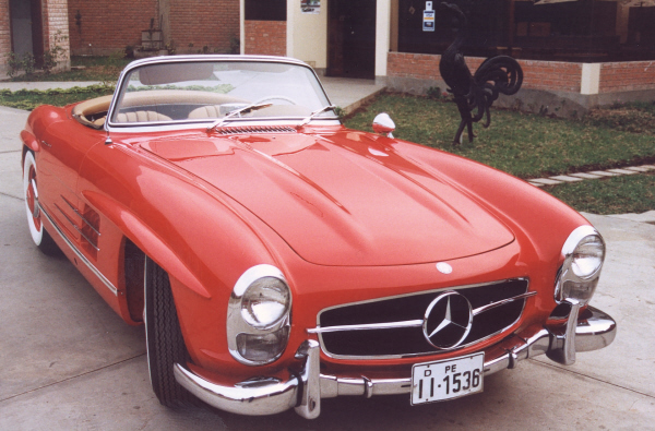1958 MERCEDES-BENZ 300SL ROADSTER - Front 3/4 - 19685
