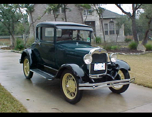 1929 FORD MODEL A SPECIAL COUPE -  - 19697