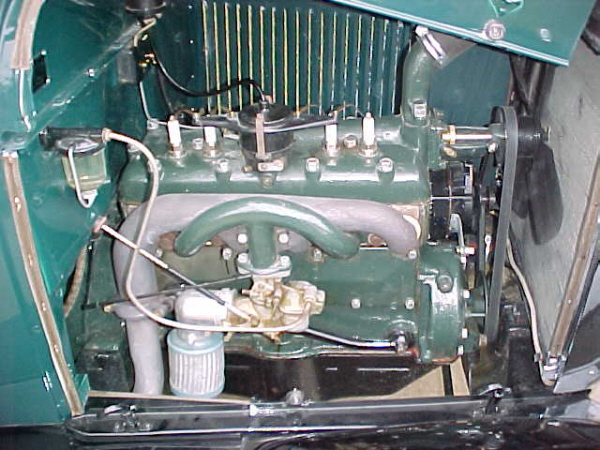 1929 FORD MODEL A SPECIAL COUPE - Engine - 19697