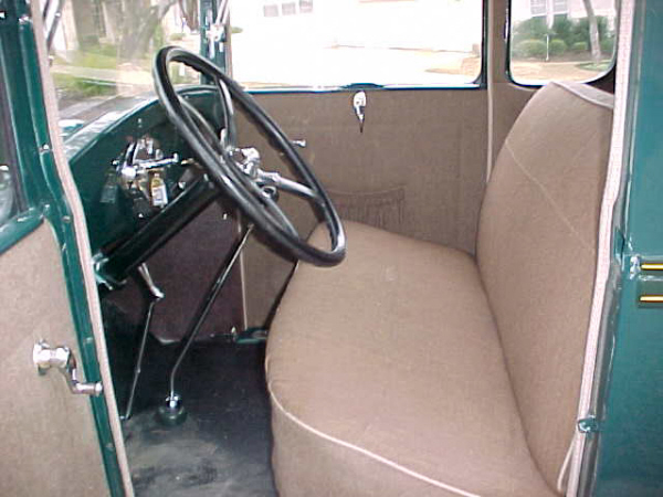 1929 FORD MODEL A SPECIAL COUPE - Interior - 19697