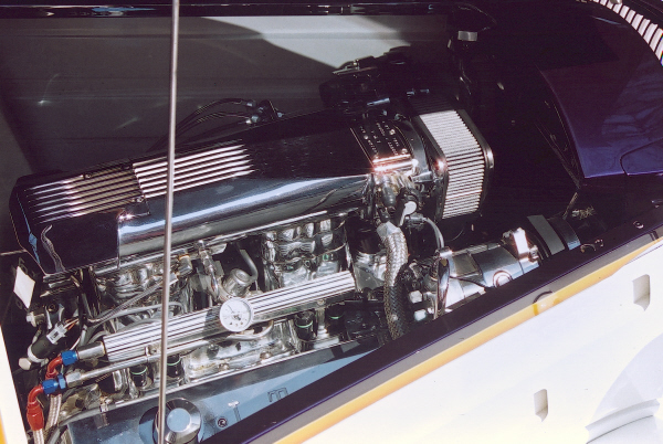 1934 FORD 3 WINDOW COUPE - Engine - 19706