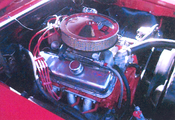 1967 CHEVROLET CHEVELLE SS 2 DOOR COUPE - Engine - 19708