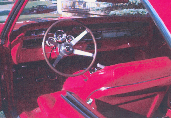 1967 CHEVROLET CHEVELLE SS 2 DOOR COUPE - Interior - 19708