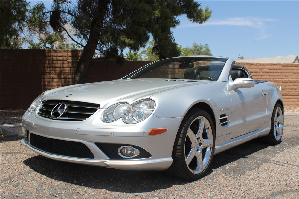 2008 mercedes benz sl55 amg convertible 197108