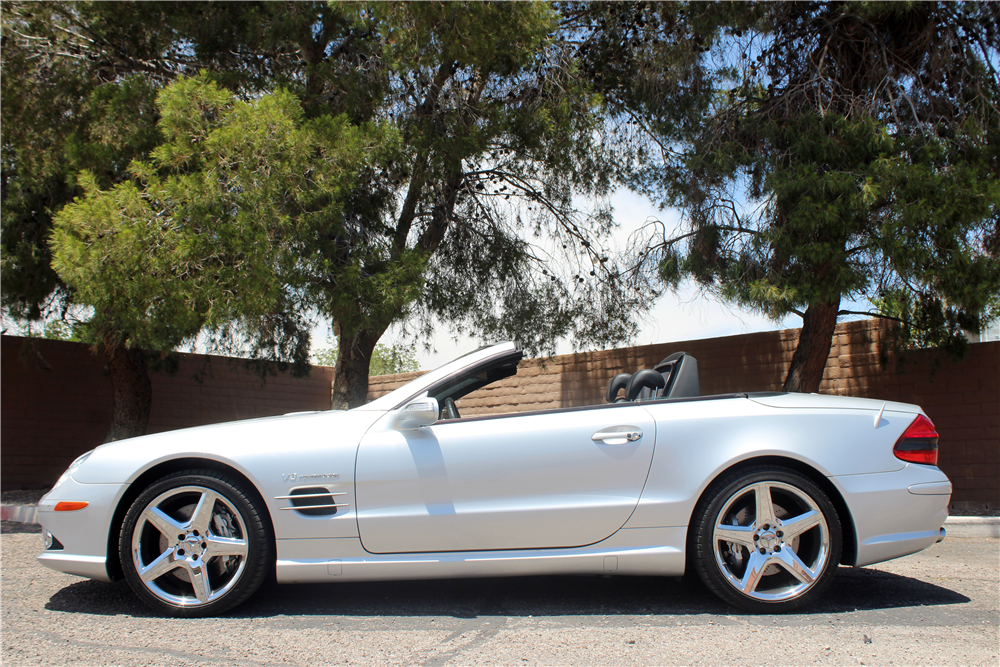 2008 mercedes benz sl55 amg convertible 197108. Black Bedroom Furniture Sets. Home Design Ideas