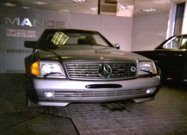 1992 MERCEDES-BENZ 500SL ROADSTER - Side Profile - 19723