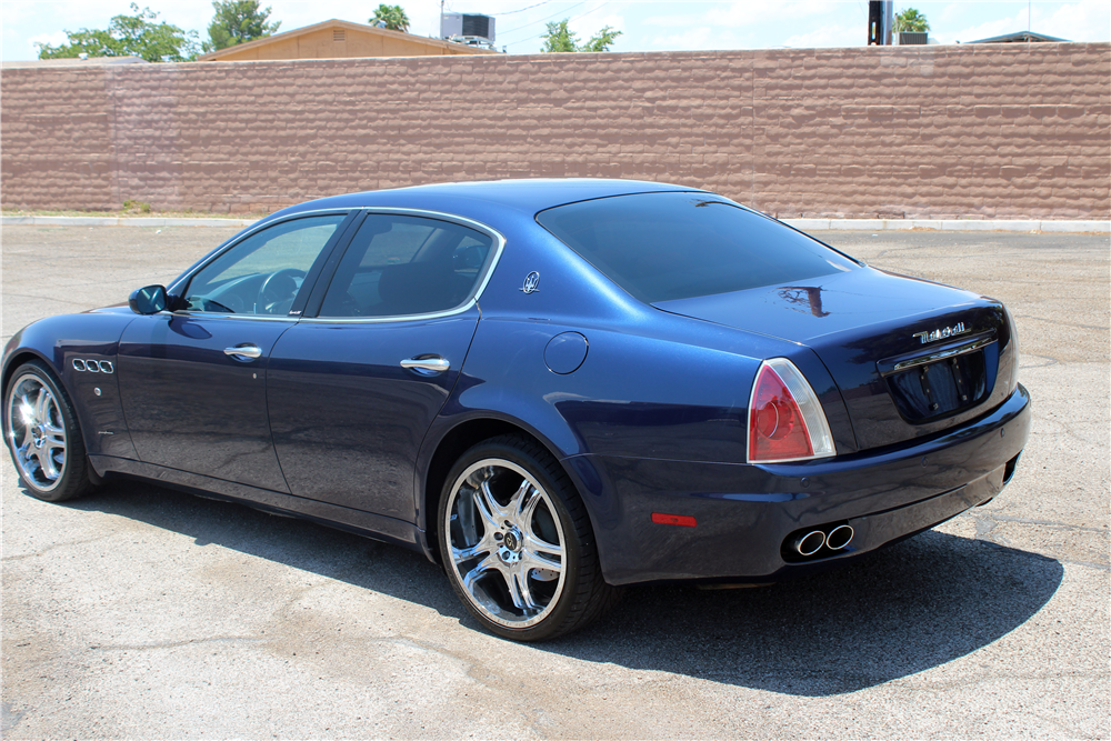 2006 maserati quattroporte 4 door sedan 197253. Black Bedroom Furniture Sets. Home Design Ideas