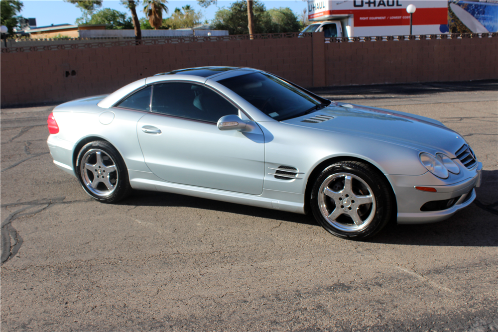 2003 Mercedes Benz Sl500 Amg Convertible 197255