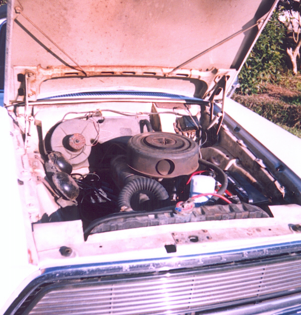1962 RAMBLER AMERICAN CONVERTIBLE - Engine - 19760