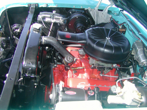 1957 CHEVROLET BEL AIR CONVERTIBLE - Engine - 19793