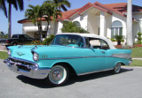 1957 CHEVROLET BEL AIR CONVERTIBLE -  - 19793