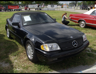 1997 MERCEDES-BENZ 600SL CONVERTIBLE -  - 19800