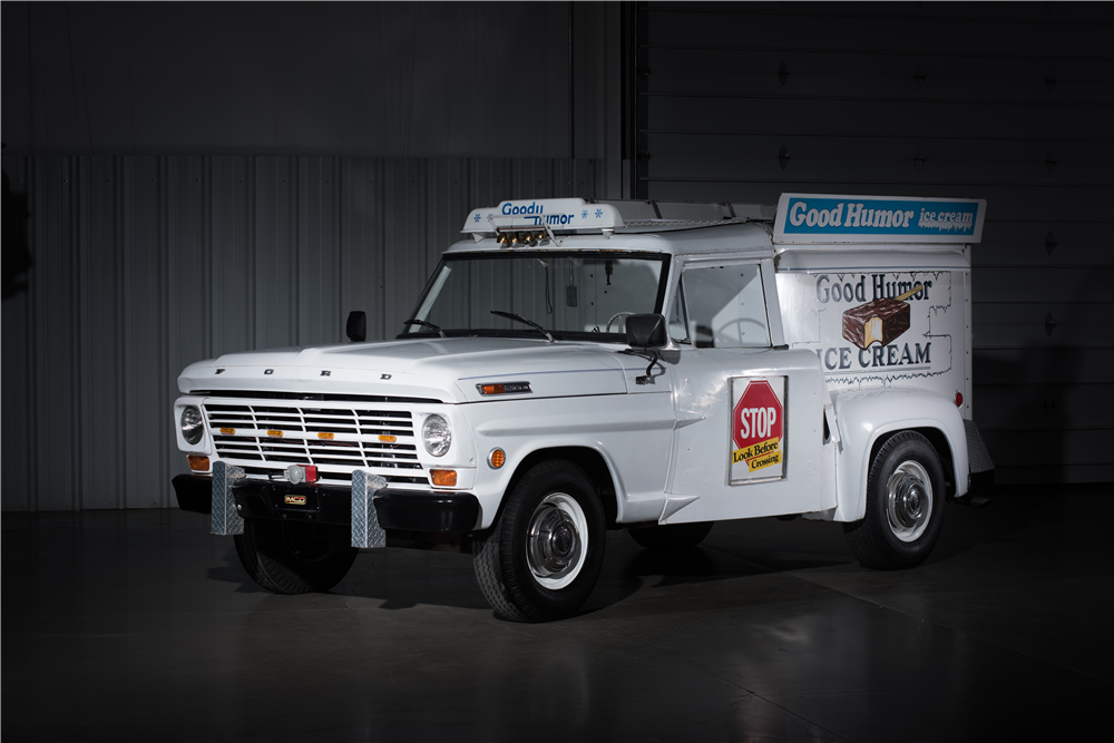 1969 FORD F-250 GOOD HUMOR ICE CREAM TRUCK - Front 3/4 - 198073