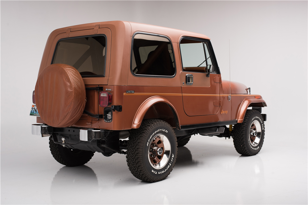 1983 Jeep Cj 7 Limited Edition 198082