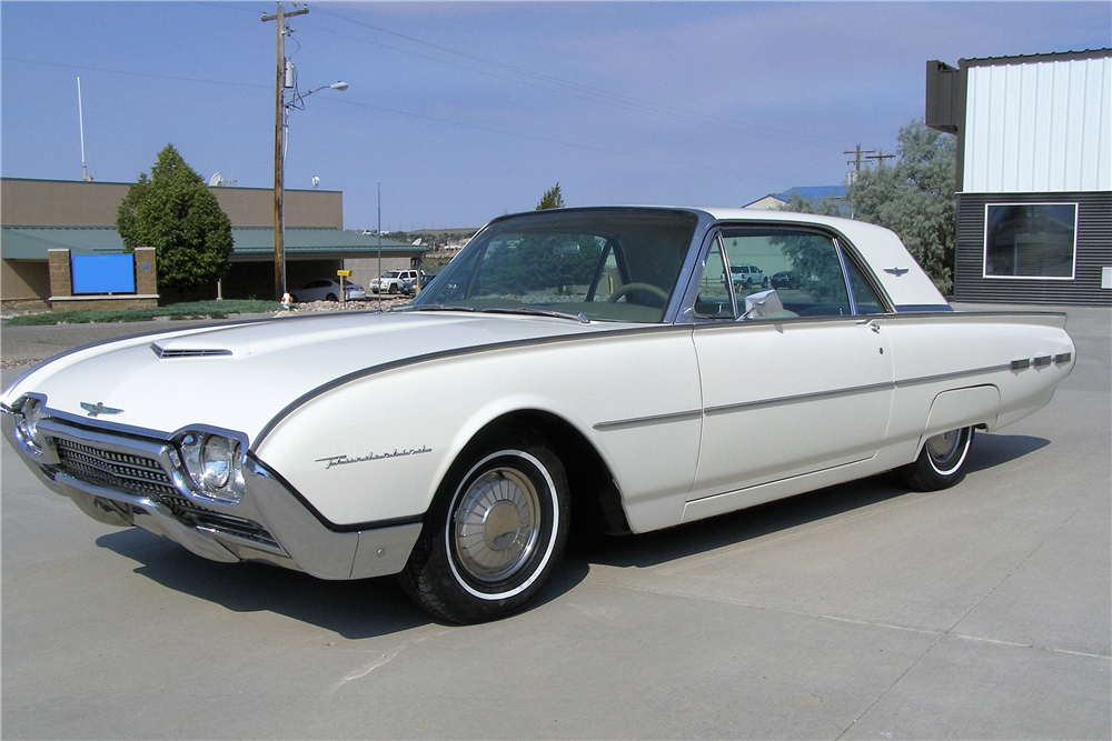 1962 ford thunderbird 198163. Cars Review. Best American Auto & Cars Review