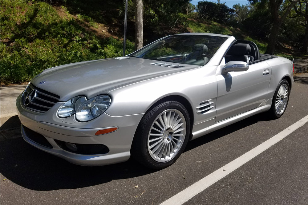 2004 mercedes benz sl500 convertible 198277