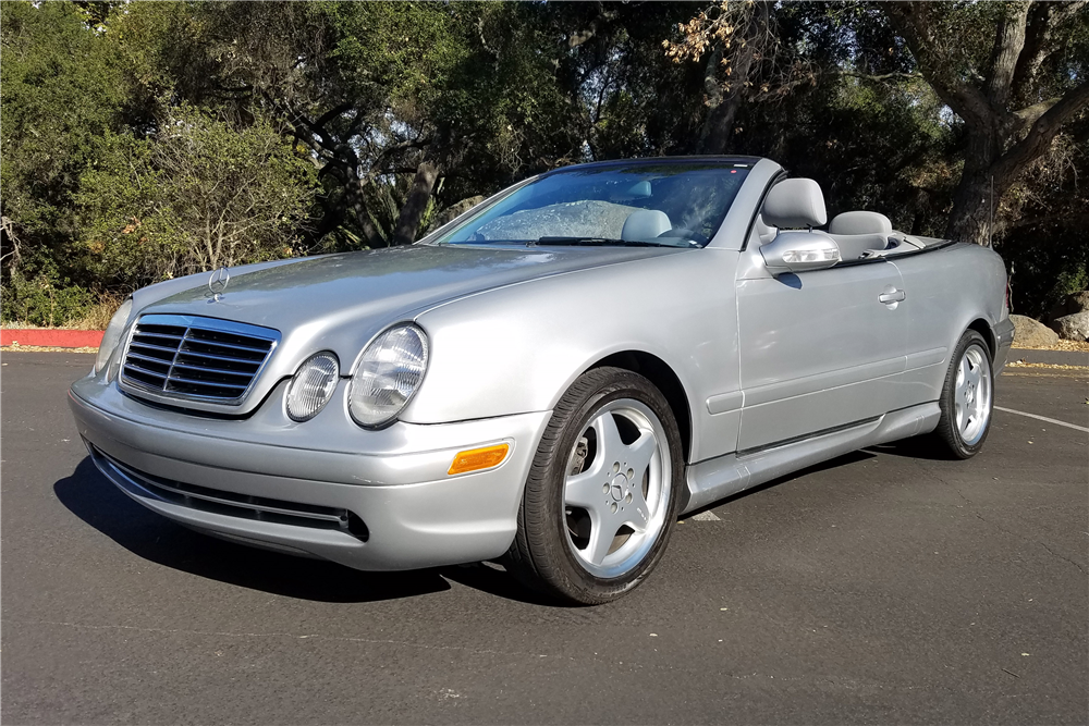 2001 mercedes benz clk430 convertible 198278 for 2001 mercedes benz clk430