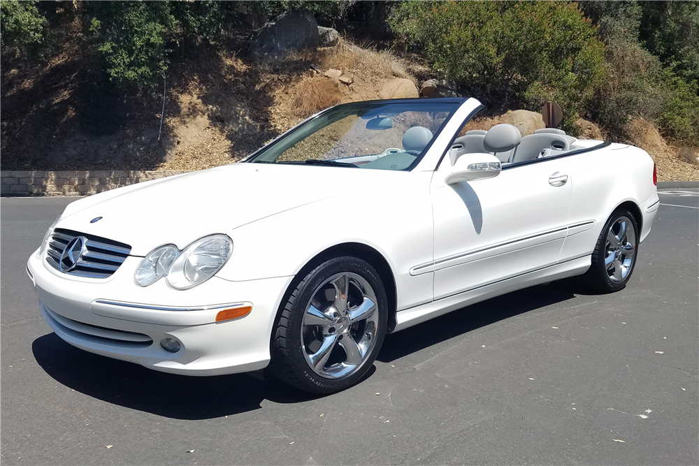 2005 mercedes benz clk320 convertible 198279 for Mercedes benz clk 2005