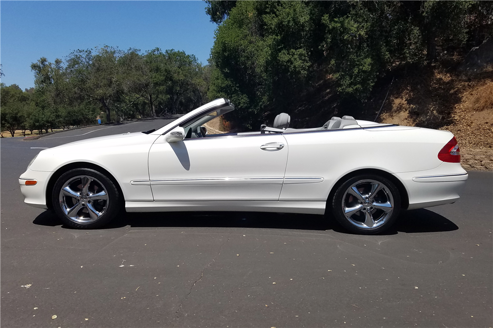 2005 mercedes benz clk320 convertible 198279
