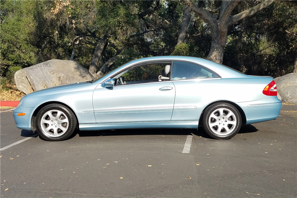 2004 mercedes benz clk 320 198288
