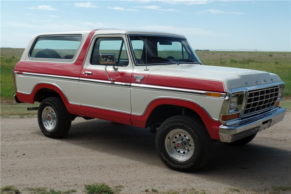 New Ford Bronco Price >> 1978 FORD BRONCO RANGER XLT - 198292