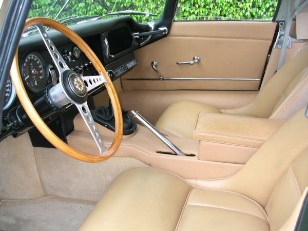 1963 JAGUAR E-TYPE VICARAGE ROADSTER - Interior - 19830