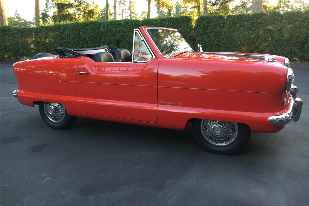1954 NASH METROPOLITAN CUSTOM CONVERTIBLE