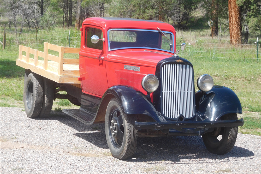 1933 dodge brothers flatbed truck   198338