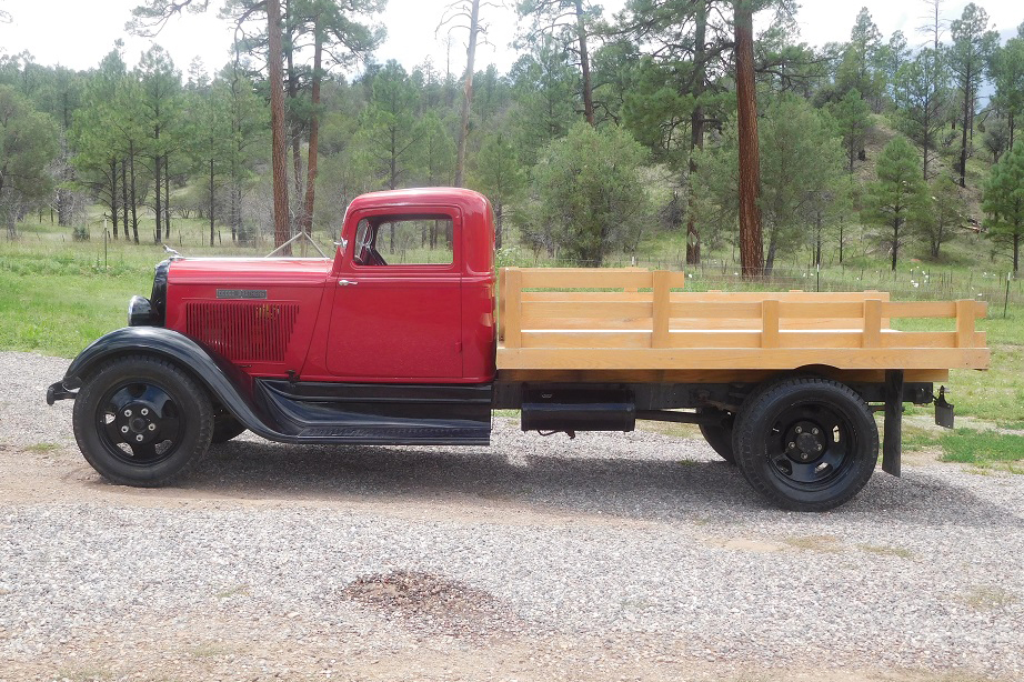 1933 DODGE BROTHERS FLATBED TRUCK - 198338