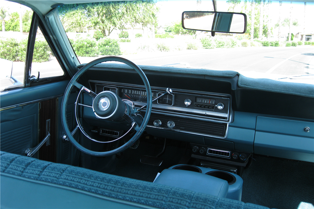 1967 FORD FAIRLANE 500 4 DOOR SEDAN