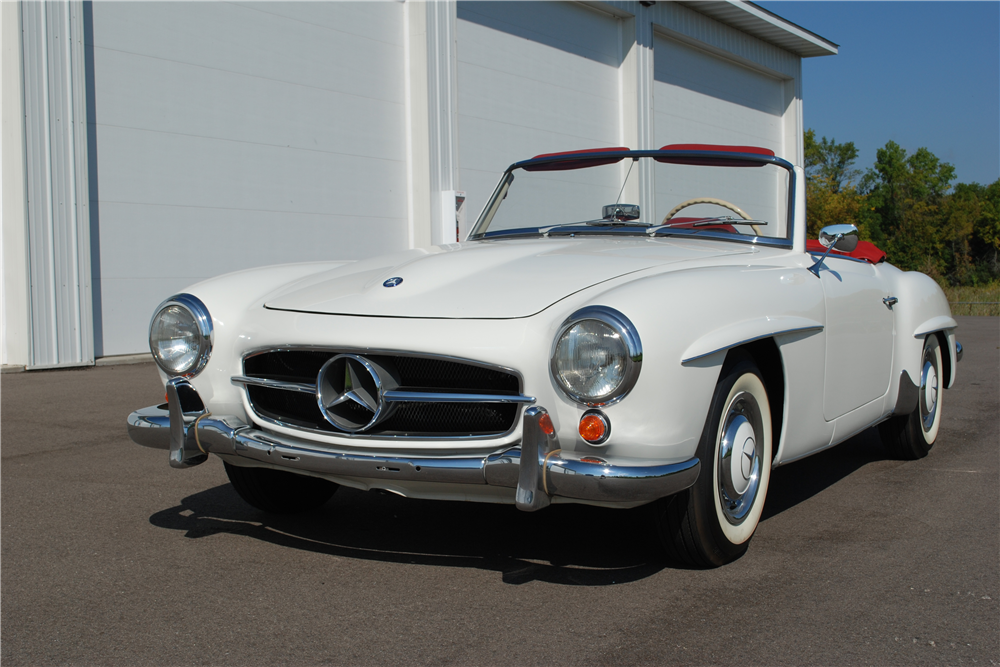 1962 mercedes benz 190sl roadster 198453 for Mercedes benz roadster price