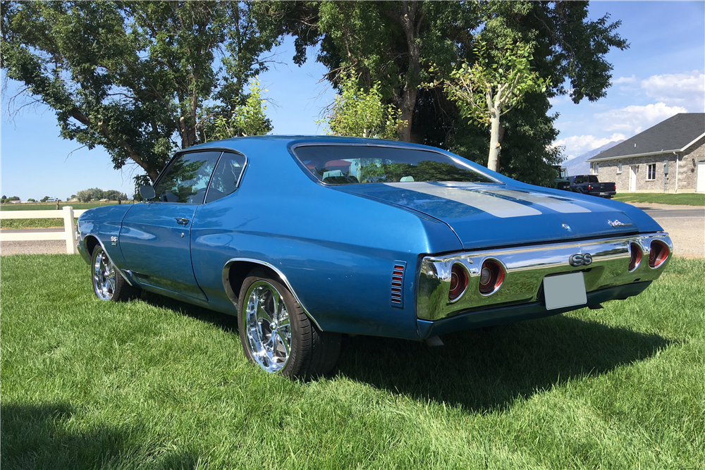 1971 CHEVROLET CHEVELLE SS CUSTOM COUPE - 198459