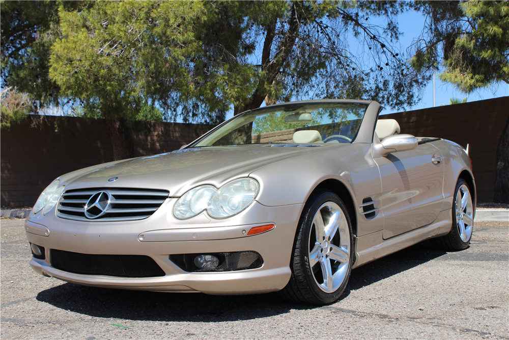 2004 mercedes benz sl500 convertible 198466
