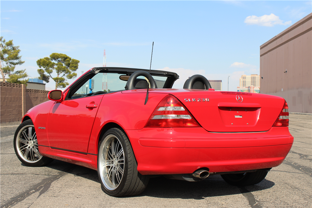 2003 mercedes benz slk230 convertible 198467 for Mercedes benz slk230