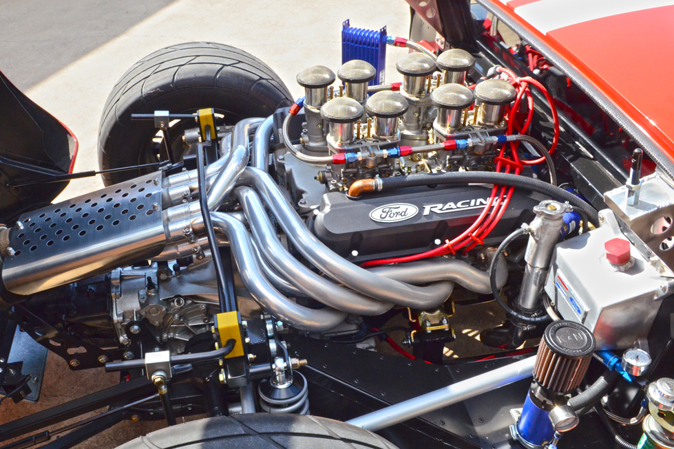 1966 ford gt40 re creation engine 198513