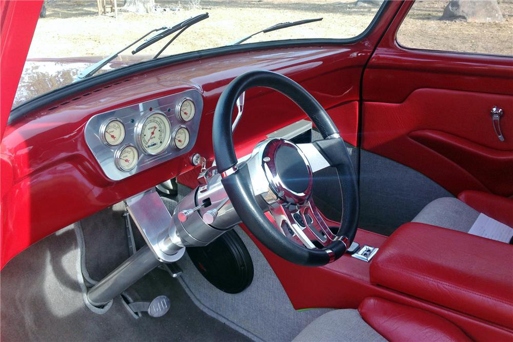 1954 ford f 100 step side custom pickup 198571. Black Bedroom Furniture Sets. Home Design Ideas