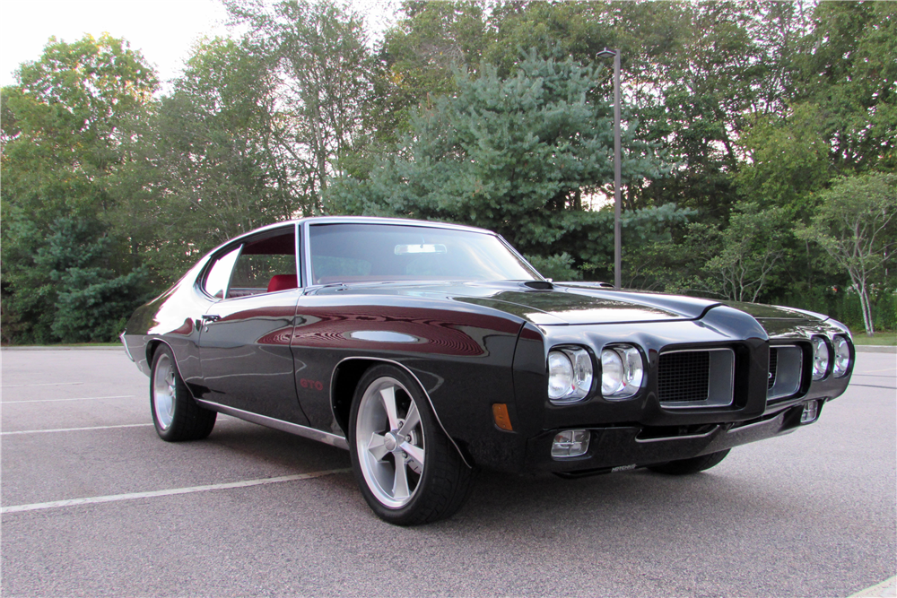 1970 pontiac gto custom coupe 198629. Black Bedroom Furniture Sets. Home Design Ideas