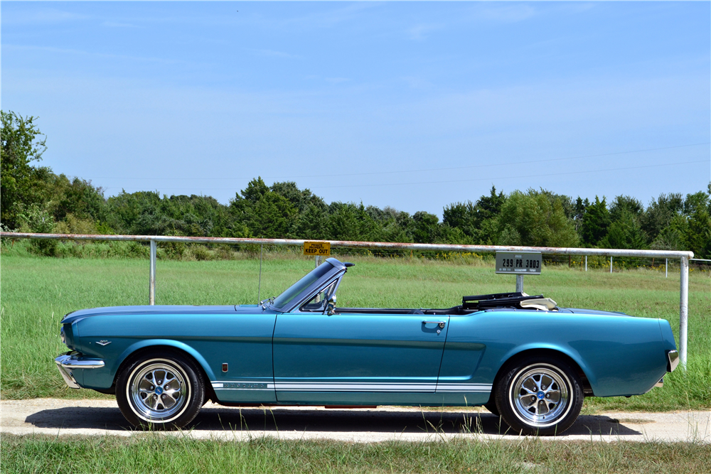 Ford Mustang Gt Convertible 2017 >> 1965 FORD MUSTANG GT CONVERTIBLE - 198642