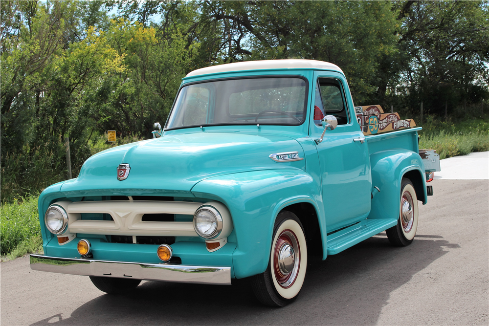 1953 ford f 150 pickup 198684 for Ford f150 paint job cost
