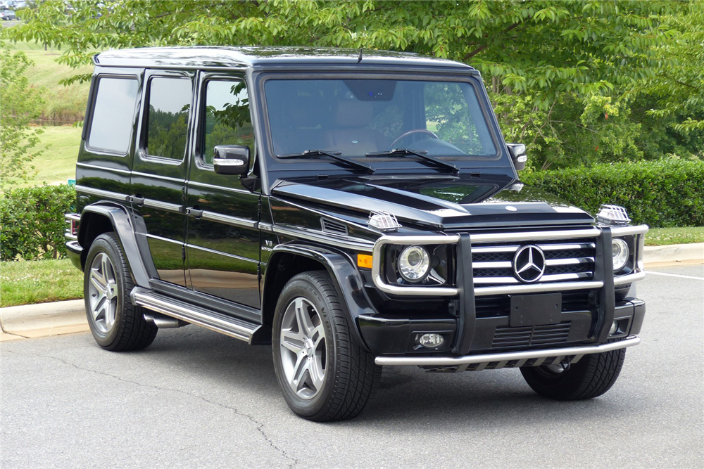 2009 mercedes benz g55 amg suv 198692 for Mercedes benz amg suv price