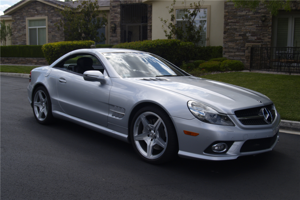 2009 mercedes benz sl550 convertible 198695 for Mercedes benz sl550