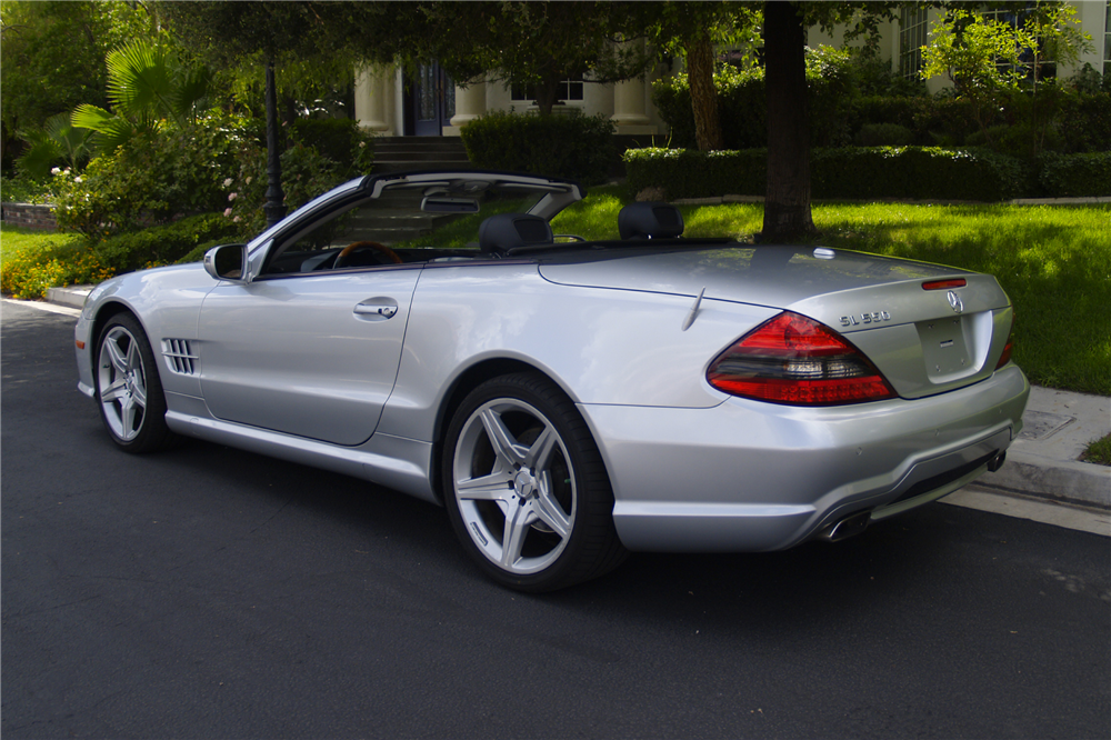 2009 mercedes benz sl550 convertible 198695 for Mercedes benz sl convertible