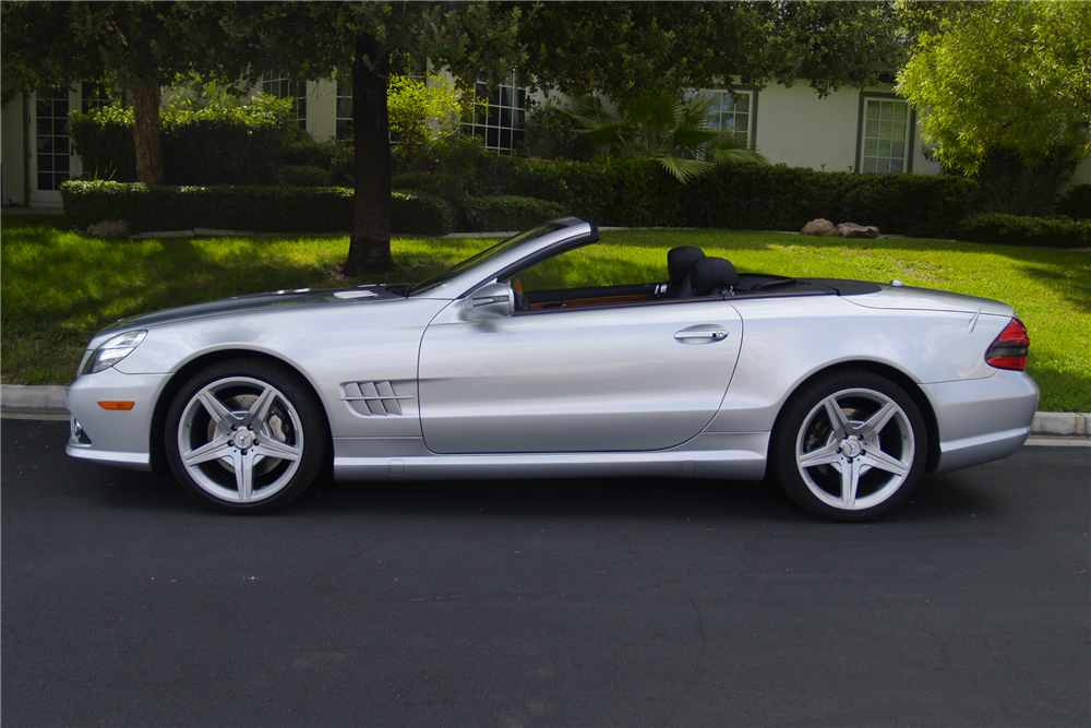 2009 Mercedes Benz Sl550 Convertible 198695