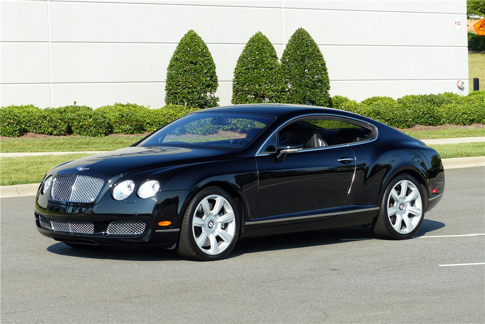 2006 bentley continental gt front 3 4 198725. Cars Review. Best American Auto & Cars Review