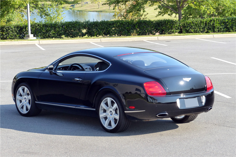 2006 bentley continental gt rear 3 4 198725. Cars Review. Best American Auto & Cars Review