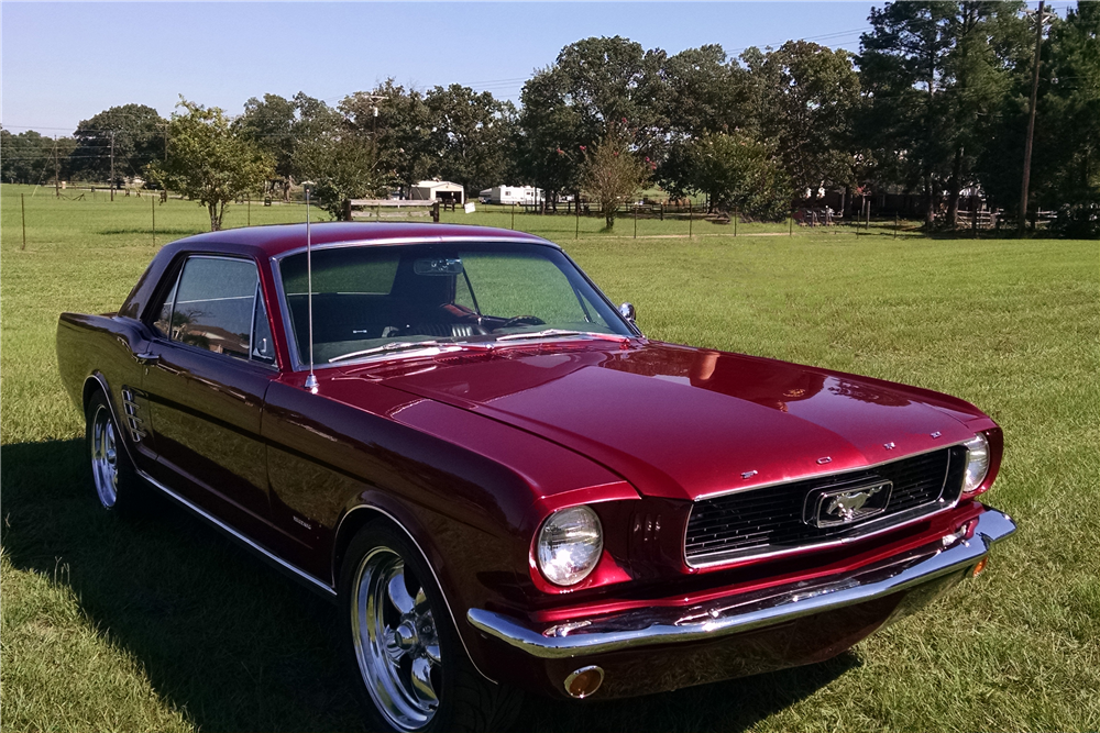 1966 ford mustang custom coupe 198847. Black Bedroom Furniture Sets. Home Design Ideas