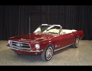 1967 FORD MUSTANG CONVERTIBLE -  - 19894