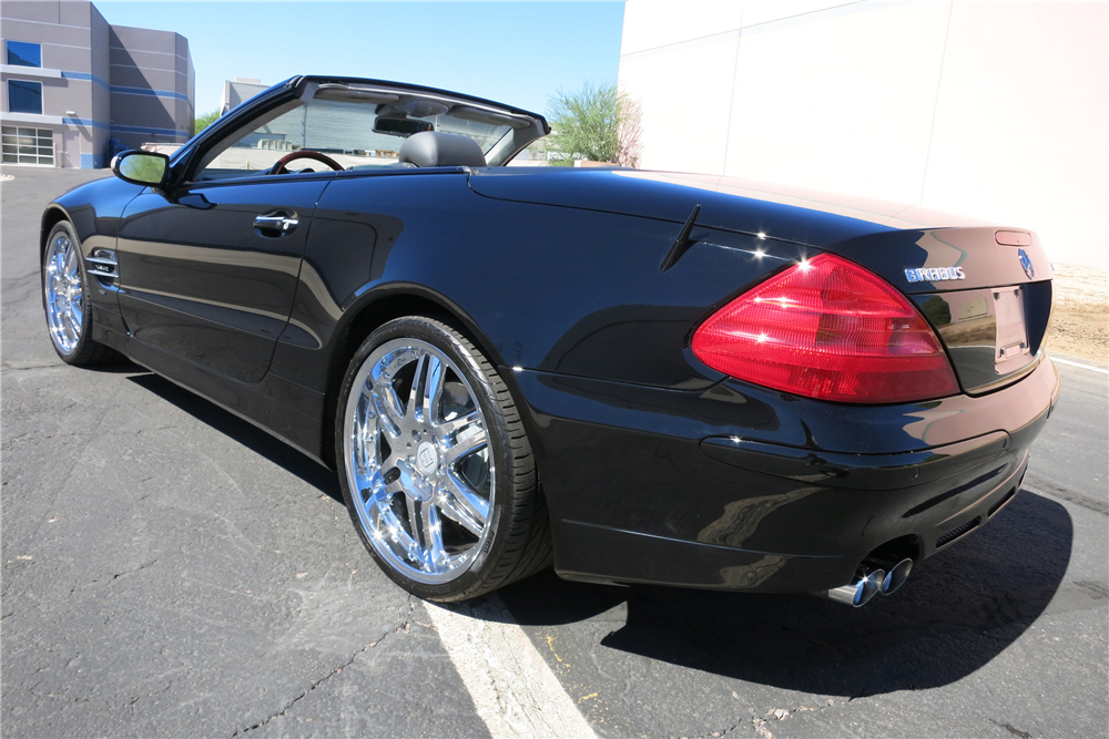 2004 mercedes benz sl600 convertible 198961. Black Bedroom Furniture Sets. Home Design Ideas